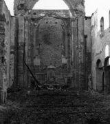 vollsändig zerstörter Innenraum, © Stadtarchiv Mainz, BPSF 2066 A