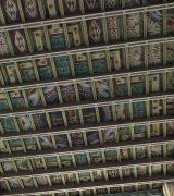 1906: Evangelische Gemeindekirche, Architekt Friedrich Pützer. Blick zur Decke  © 2018 Architectura Virtualis GmbH Kooperationspartner der Technischen Universität Darmstadt