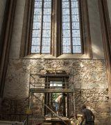 Neue Tür in der Westmauer des Alten Doms!  © Gerhard Fleischer