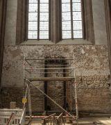 Der Westchor soll für Besucher direkt begehbar werden. © Gerhard Fleischer